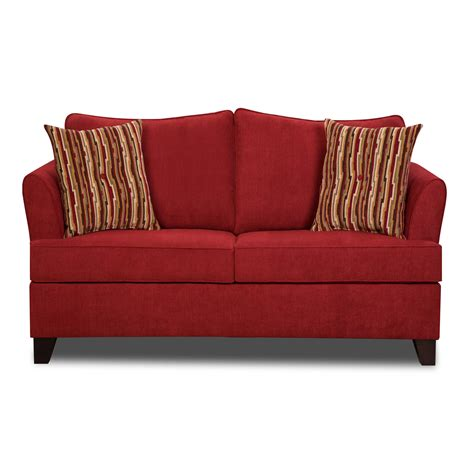 designer sleeper couches red leather sleeper sofa interior design