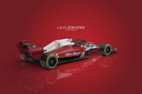 Garage Design Works alfa romeo sauber 2018 f1 car concept design