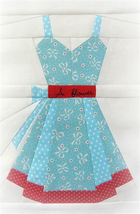 Dress Quilt Pattern charise creates vintage dresses pattern