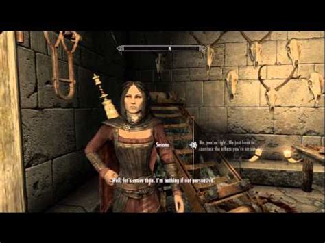 the elder scrolls v dawnguard serana appears at fort