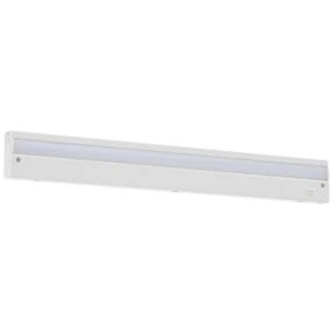 commercial electric led under cabinet lighting commercial electric 24 in led white direct wire under