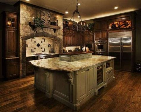 old world tuscan kitchens make a house a home