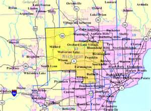 michigan s 11th congressional district map the wiki
