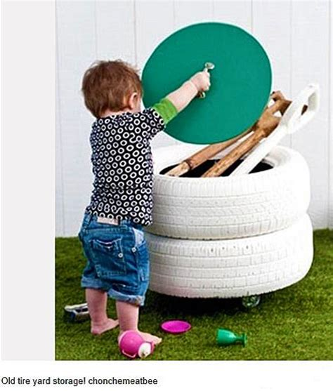 tire swings for kids 20 garden decorations and kids toys made with recycled tires