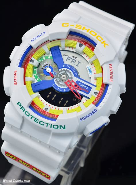 Baby G Sherina White Rainbow and ricky x g shock white rainbow up