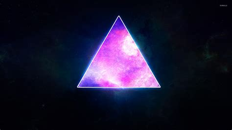 wallpaper black triangle cosmic triangle wallpaper abstract wallpapers 26752