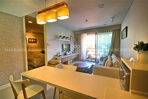 one bedroom luxury apartments luxury 1 bedroom apartment marrakesh hua hin residences