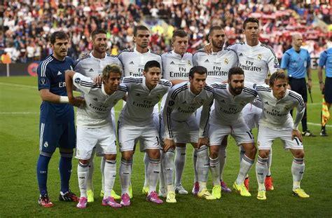 imagenes del real madrid jugadores 2015 supercopa de europa real madrid sevilla los