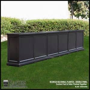 keswick rectangular planter box commercial patio garden