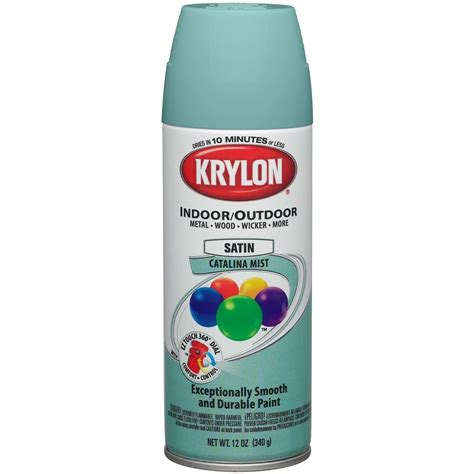 krylon spray paint colors krylon colormaster enamel spray paint satin mist