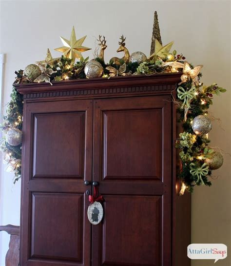 Top Of Armoire Decor by 1000 Ideas About Armoire Decorating On
