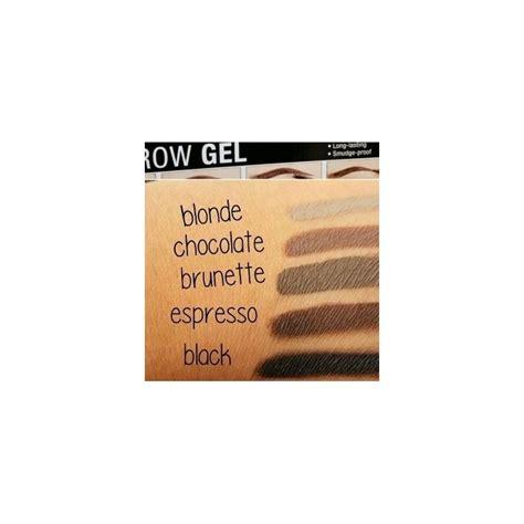 Nyx Brow Gel nyx eyebrow gel 02 chocolate brown mojadrogerija si