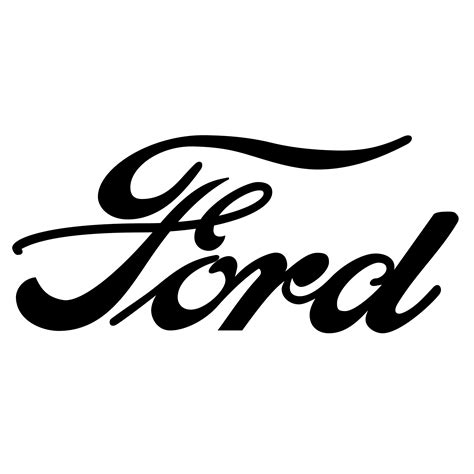 car logo black and white ford logo hd png meaning information carlogos org