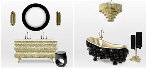 black and gold bathroom set le bain black gold porcelain bathroom accessories black