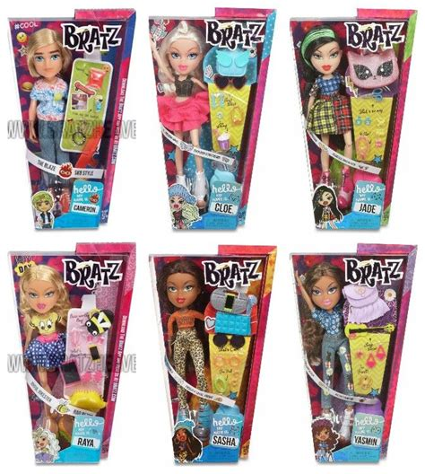 bratz names bratz dolls names 1038 best bratz images on pinterest