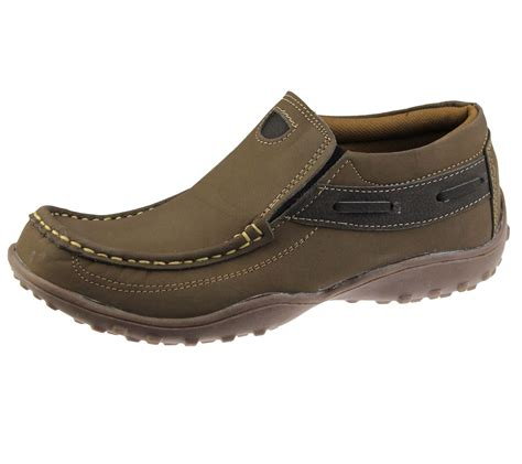 walking comfort shoes mens casual shoes slip on deck loafers smart walking