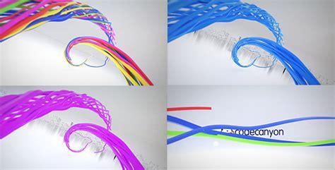 ribbon logo reveal colorful ribbon logo reveal by donvladone videohive