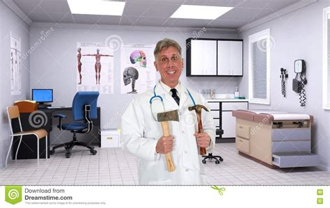 Emergency Room Best Practices by Quack Doctor Hospital Room Stock Photo Image