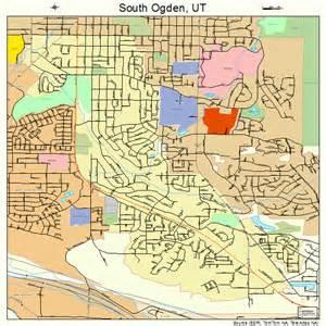 Ogden Utah Map by South Ogden Utah Street Map 4970960
