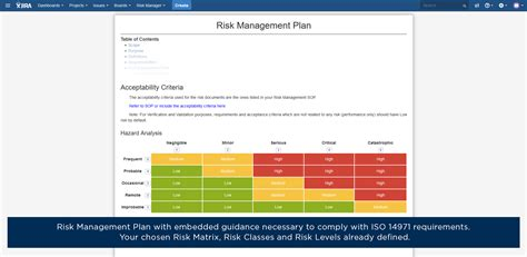 iso 14971 risk management plan template choice image