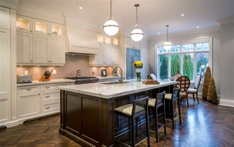 Dark Wood Floors White Kitchen Cabinets Kitchen And Decor White Kitchen Cabinets Wood Floors
