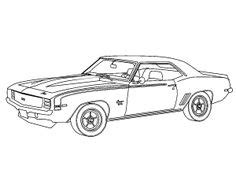 69 Camaro Front Coloring Pages 69 Camaro Coloring Pages