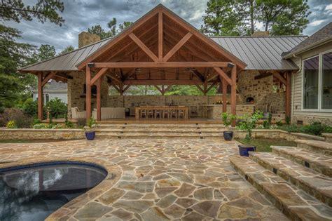 Backyard Kitchen Ideas by Timber Frame Pavilions Gazebos Amp More