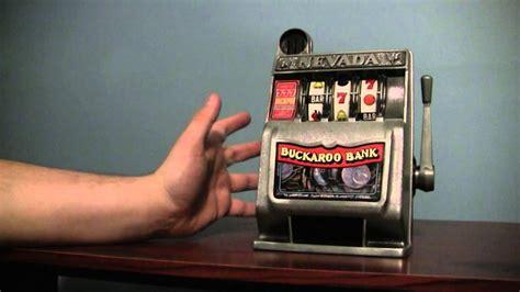 buckaroo bank mini slot machine youtube
