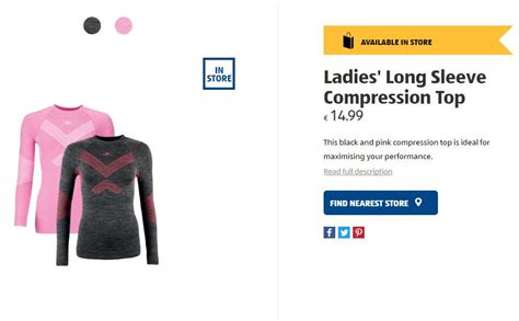 new sportswear from aldi is for your workout wardrobe