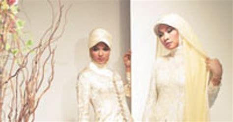 model kebaya muslim contoh desain model kebaya muslim modern terbaru wanita gambar gaun pesta