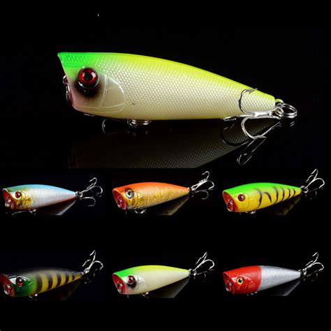 Pancing 1pcs Crank Popper Fishing Baits Bass Crankbaits Hooks 8cm 2 1pcs popper topwater fishing lures crankbaits bass