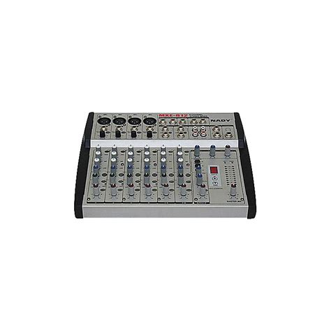 Mixer 8 Channel Bekas nady mxe 812 8 channel mic line mixer with dsp fx music123