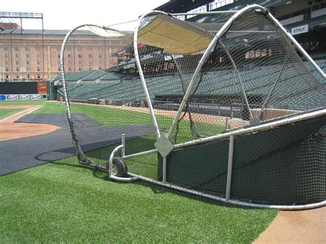 home plate batting center 7 15 11 at camden yards 171 the baseball collector