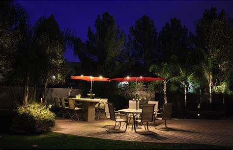 Set The Mood For Your Outdoor Living Environment With The Ewing Landscape Lighting
