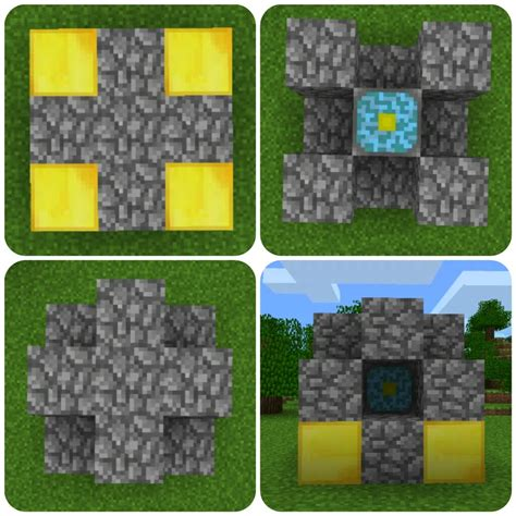pattern nether core minecraft pe vs pc and xbox minecraft