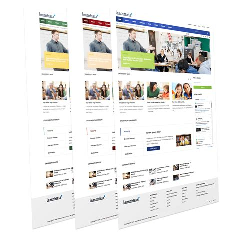 modern joomla templates learnmate school education joomla template