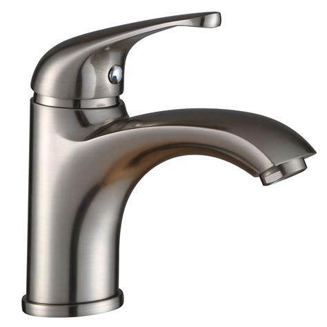 elite bn luxury short brushed nickel single handle bathroom lavatory faucet bathroom sinks