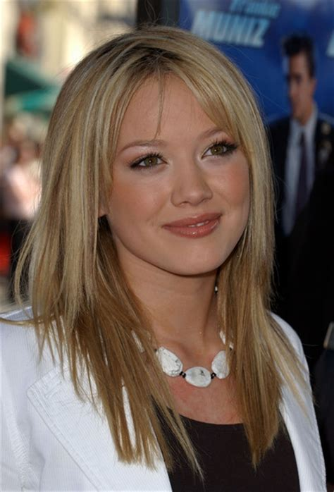 hilary duff long hairstyle hilary duff long straight hairstyle hairstyles weekly