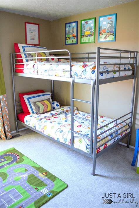 Bunk Bed Ikea by The Cs Ikea Big Boy Room Reveal Just A And