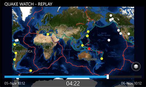 earthquake watch quake watch a windows phone app mspoweruser