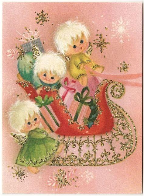 brims 1960s snowman angel 394 best cards mostly vintage images on vintage