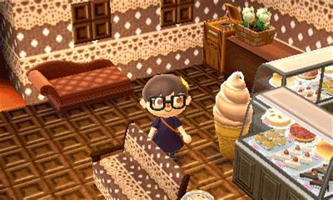 room themes new leaf gif chocolate cafe animal crossing bakery screenshots new