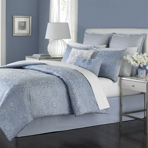 martha stewart collection periwinkle dream comforter set  pc bedding home appliances