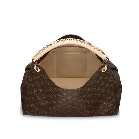 Are Louis Vuitton Bags Handmade - monogram artsy mm s luxury canvas handbag louis