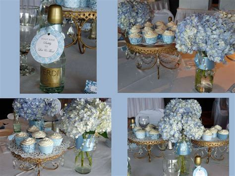 Blue Bridal Shower by Something Blue Bridal Shower Bridal Wedding Shower
