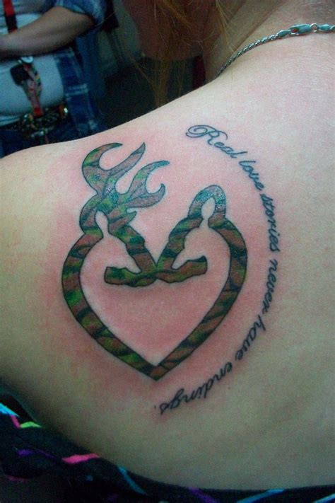 camo shoulder tattoo 24 browning deer tattoos designs and collection