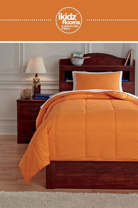 orange twin bedding ikidz rooms 174 plainfield orange twin comforter set kids youth and teen bedroom
