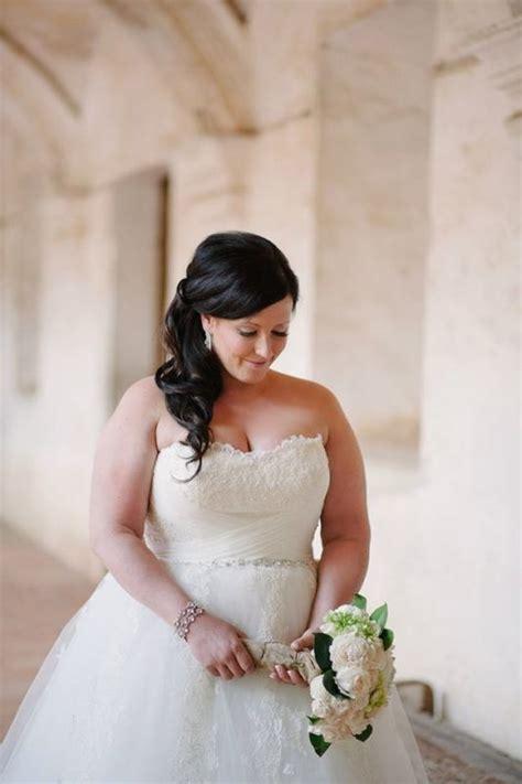 plus size bride updos plus size dresses for the weddings