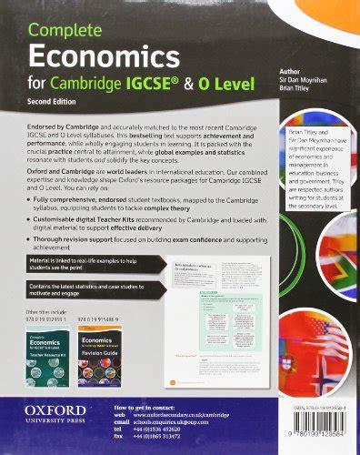 complete economics for cambridge complete economics for cambridge igcse student book con espansione online per le scuole