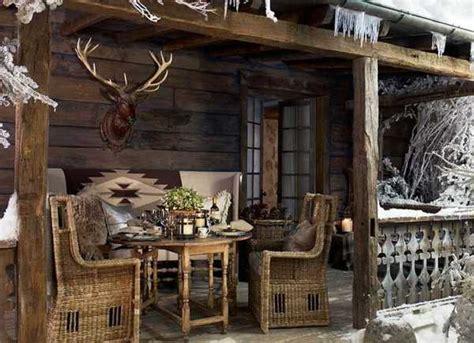 alpine country home decor ideas rustic elegance